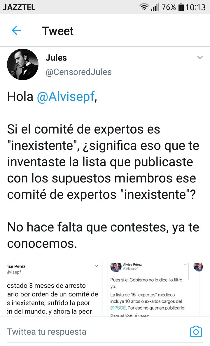 RT @rmartinvega: #espanaesroja y #YoSoyJules son TT... Aquí vemos un ejemplo. El zasca es épico https://t.co/b0X4CB1wxT
