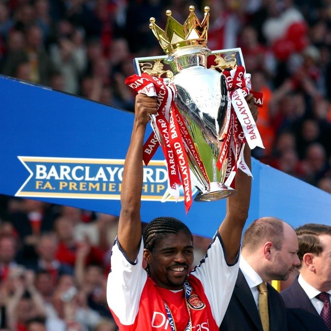 Happy birthday to former Arsenal and Super Eagles striker Nwankwo Kanu.