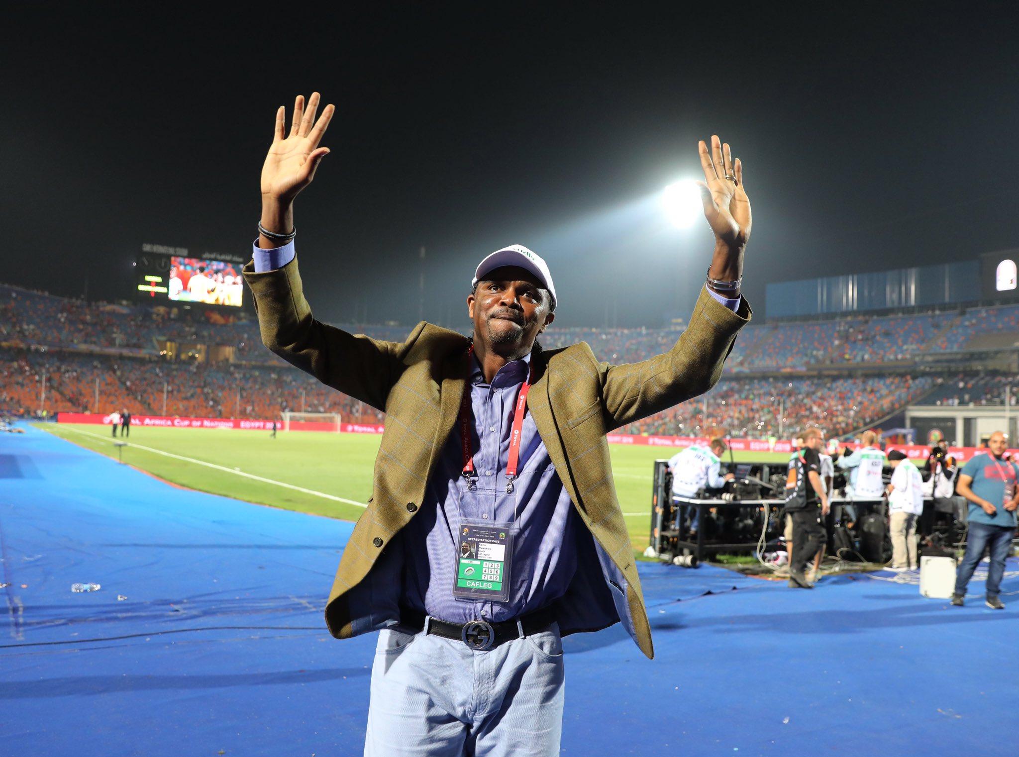 Nigerian football legend Nwankwo Kanu turns 44 today. Happy birthday legend.