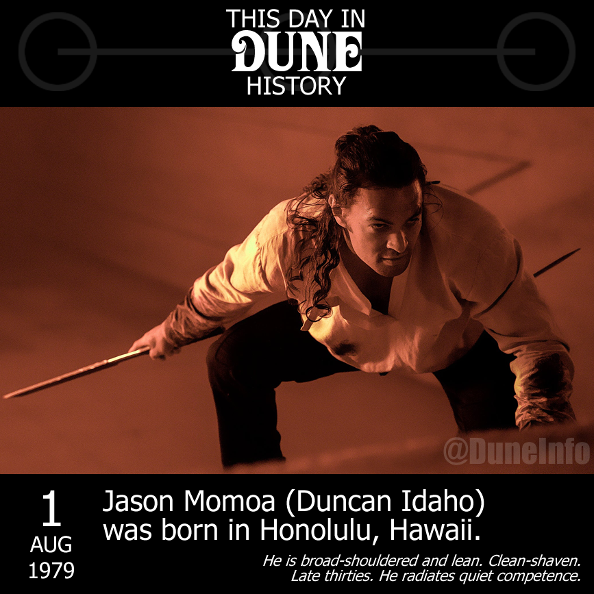 Happy Birthday to everyone\s favourite Swordmaster,  Jason Momoa, born this day in 1979.