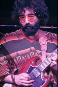 Happy birthday Jerry Garcia, born on this day 1 August 1942. Thank you for the music