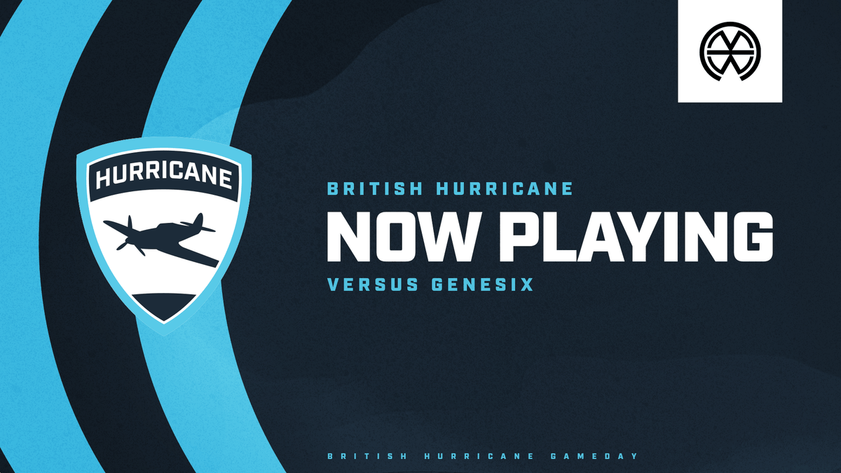 The British Hurricane are now playing in the EBC Atlantic Division vs @GenesiX_esports! Lets rule the skies! #FangsOut🛩 📺 twitch.tv/mb_official