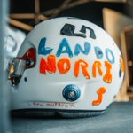 Image for the Tweet beginning: LANDO NORRI