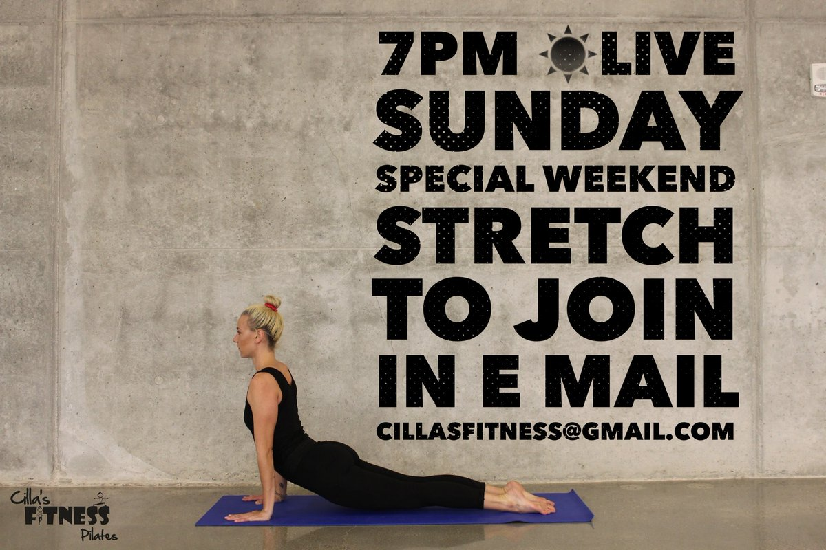 Free Live Stretch class this Sunday, come join us. e mail me on cillasfitness@gmail.com for the link. @CILLAS_fitness @Reflexology_Mcr @WilmslowRunFest @FamiliesChesMag @slimmeria @salford10k @Yu_Alderleyedge @lw_alderley @NHSStockportCCG @Redrock_SK @whatsoninstock @WhatsOnNW 🧘🏽 https://t.co/tCHqutBxJi