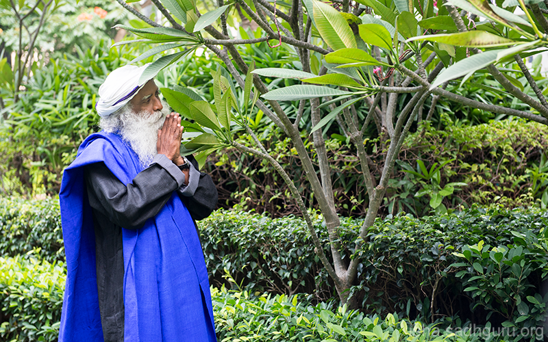 You do not know how a Blessing will come. That is why you must keep yourself open and treat every aspect of life as a Blessing. #SadhguruQuotes