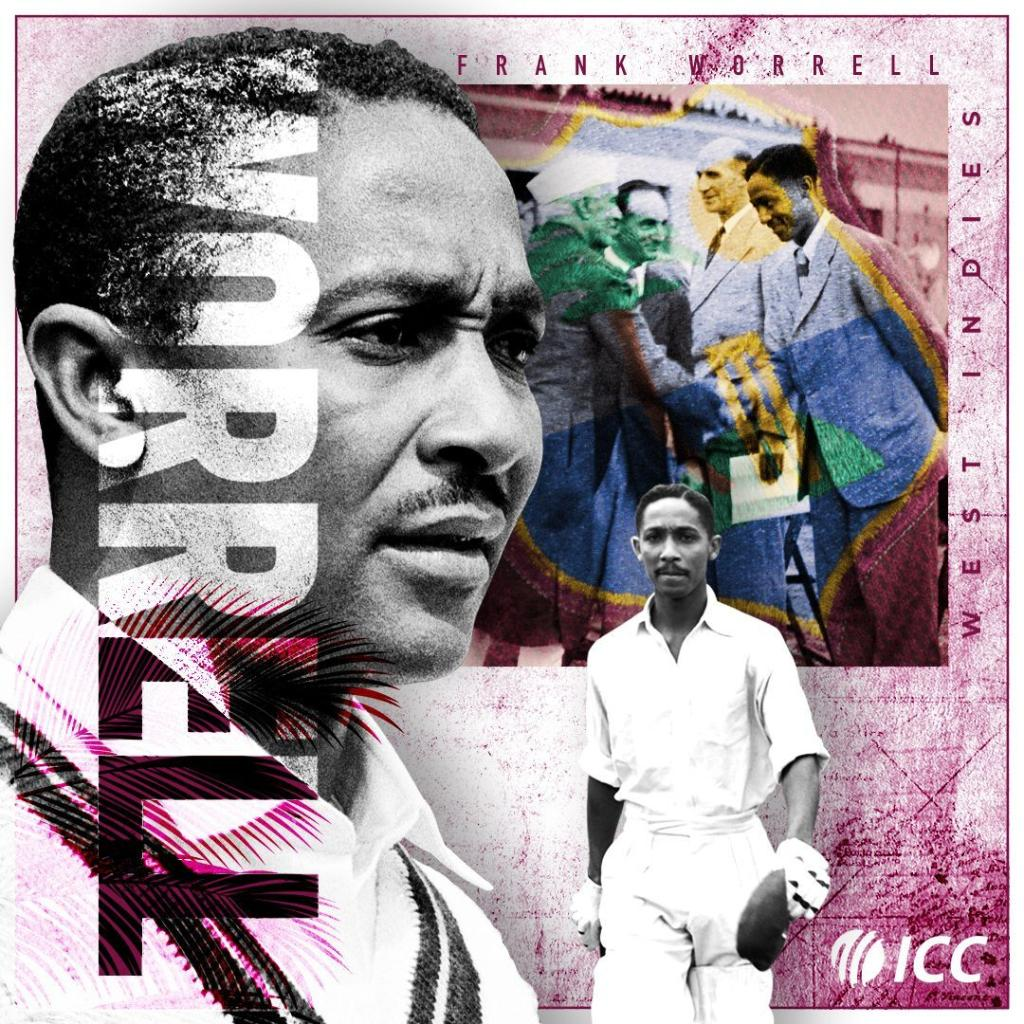 A stylish batsman with 15,025 first-class runs against his name, and an influential leader who was a unifying force in Caribbean cricket.    #OnThisDay in 1924, Frank Worrell, West Indies' first Black captain, was born. https://t.co/dmIh4NyJJn