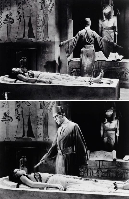 Boris Karloff and Zita Johann - The Mummy (1932) #scifi #retrohorrorpic.twitter.com/AwTEsA68BK