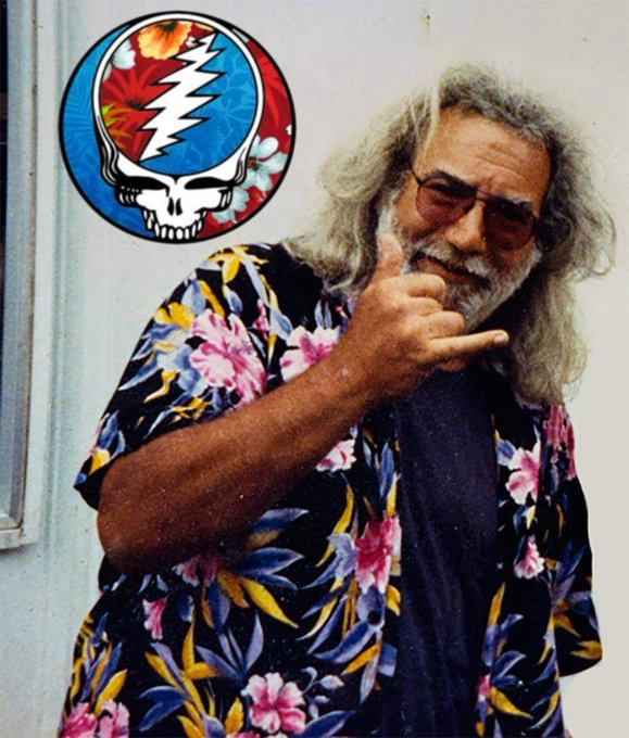 Happy 78th birthday, Jerry Garcia! You are still so loved and missed by many of us!