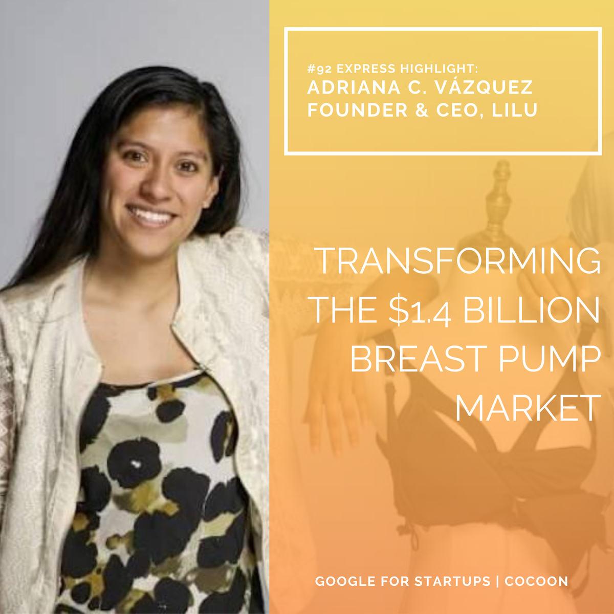 So excited for what Adriana is reinventing @wearliluThe first hands-free pumping bra to help nursing and breastfeeding moms pump more milk. Awesome read @thephilacitizen - https://t.co/O6YpN8ttvC  @GoogleStartups #womenintech  #WomenSupportingWomen #womeninhardware #bethechange https://t.co/KwQumUGUcJ