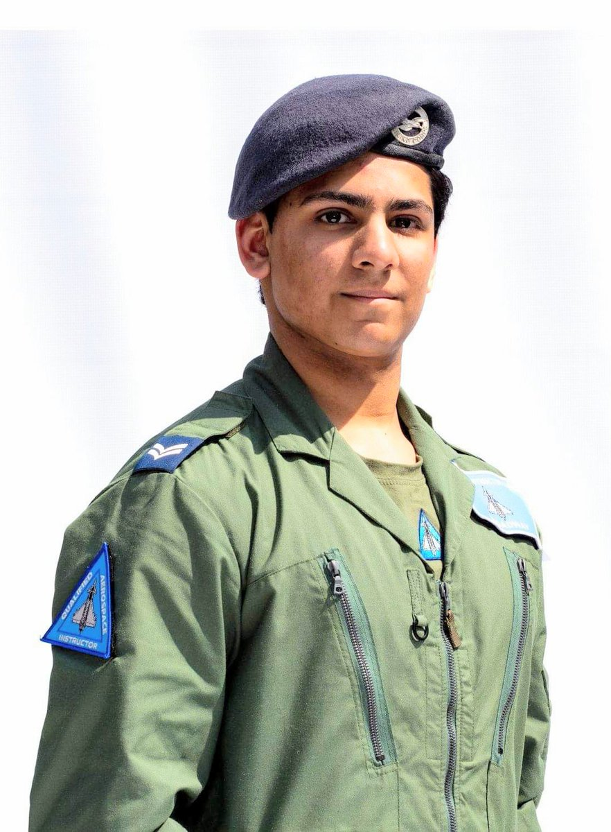 """""""Most of the pilots I have met have been ex-cadets, and they have always encouraged me to follow my dream.""""  16 year old Cadet Corporal Zain Aslam recently qualified as the youngest @RoyalAirForce aerospace instructor. Read his @EasternEye interview👇 https://t.co/v1SSaYYSOd https://t.co/1J043xIs7m"""