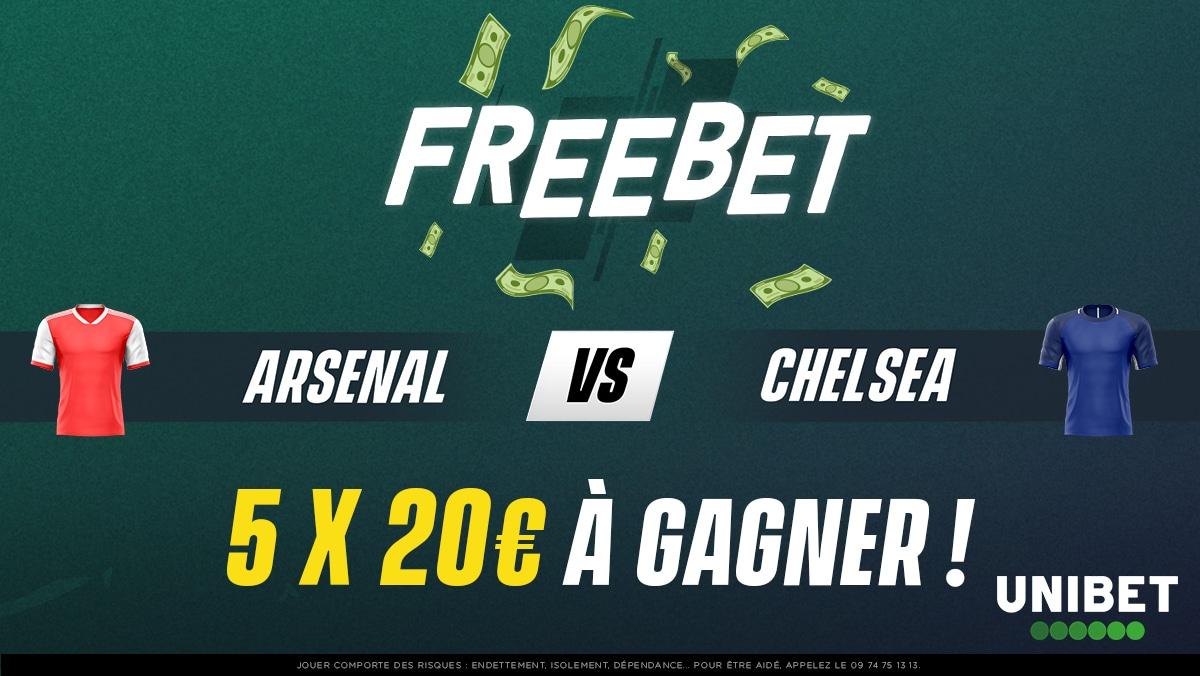 ⚽🤑 5 x 20€ à gagner pour Arsenal - Chelsea ! Qui va remporter la Coupe d'Angleterre ?  ➡ RT + #FreebetUnibet + Pseudo ⏱ Fin du jeu à 18h30 🍀 TAS dimanche https://t.co/QEzEGgLIiK