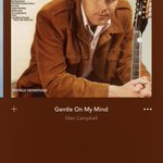 Image for the Tweet beginning: Listening to Glen Campbell this