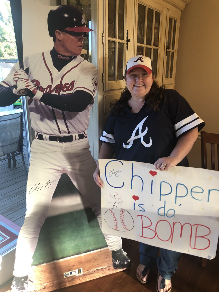 This is totally normal for a kitchen right? I love my @Braves and of course my @RealCJ10 ❤️⚾️💙 https://t.co/DRFWjcaDux