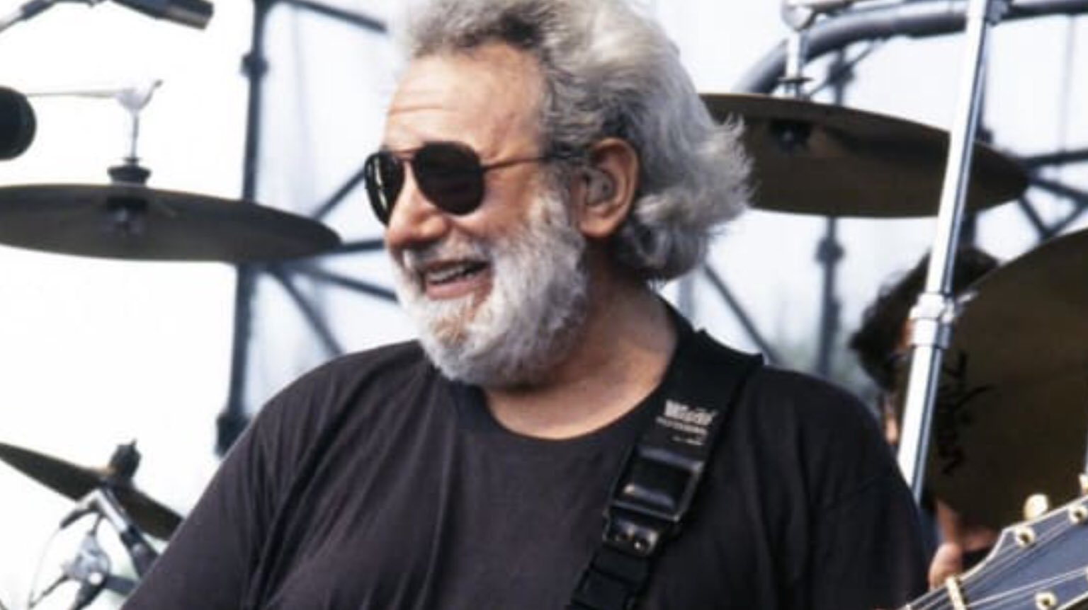 Happy birthday to her from birthday guy Jerry Garcia. Now there s a couple.....