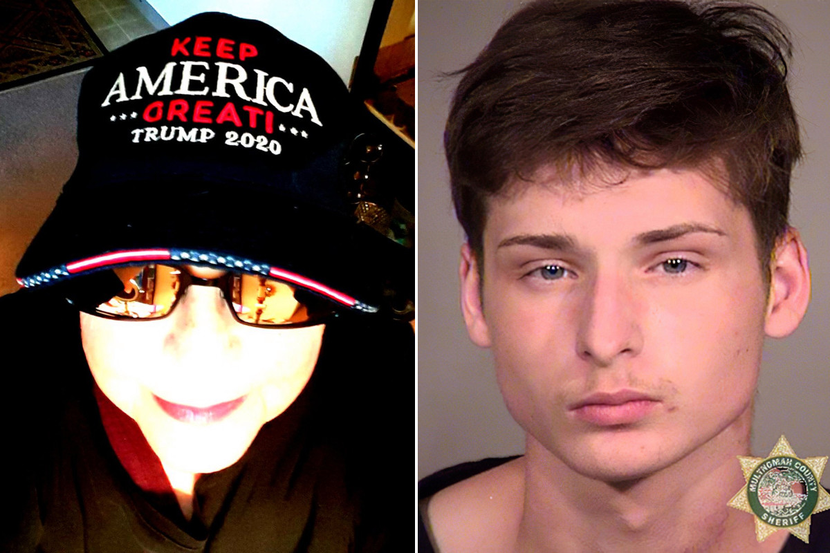 """Trump-loving grandma outs her own grandson to feds –  18-year-old Gabriel """"Rico"""" Agard-Berryhill was arrested for throwing a makeshift bomb at the Portland federal courthouse…"""