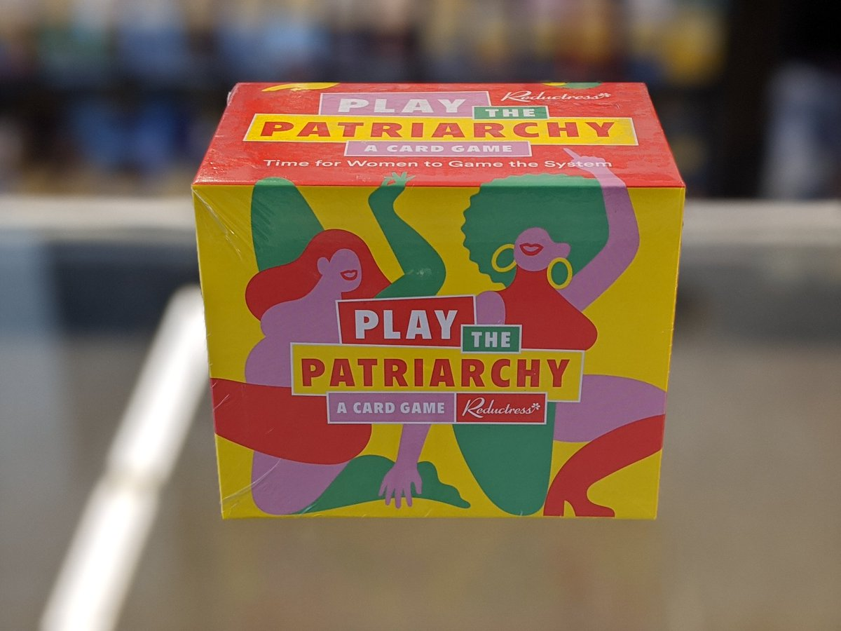 Our card game, Play the Patriarchy, is back in stock! Get yours at Shop Reductress: reductr.es/319N6om