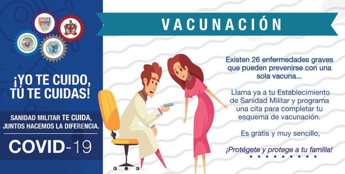 En los Establecimientos de #SanidadMilitar, donde se presta el servicio de vacunación, se aplicarán las vacunas a los afiliados a través de la programación de citas; evitando la aglomeración de personas, medida que disminuye el riesgo de contagio del #COVID19 #ProtecciónyAcción https://t.co/nTxxHqjPko