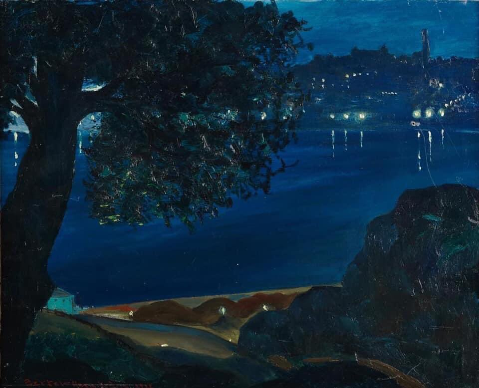 Bertel Bertel-Nordström (Finnish, 1884-1967) Evening Motif, 1928