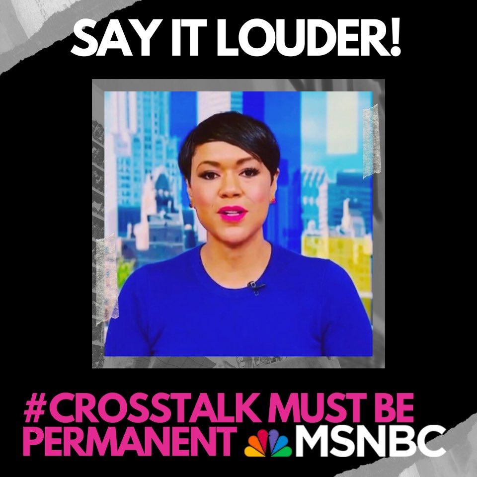 I loooooove me some @TiffanyDCross on @MSNBC! Share if you agree! #CrossTalk