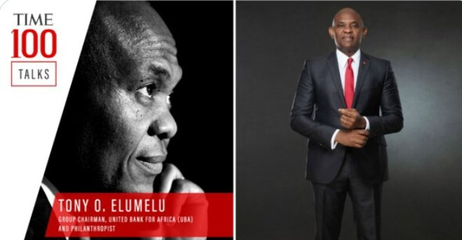 """""""Africa is a land of opportunity."""" United Bank for Africa chairman @TonyOElumelu on why now is the time to invest in Africa #TIME100Talks https://t.co/ZZb5nHKEtg https://t.co/2yVCU6X25E"""