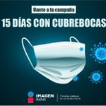 Image for the Tweet beginning: ¡Una cubre bocas! #15DiasConCubrebocas  (Si