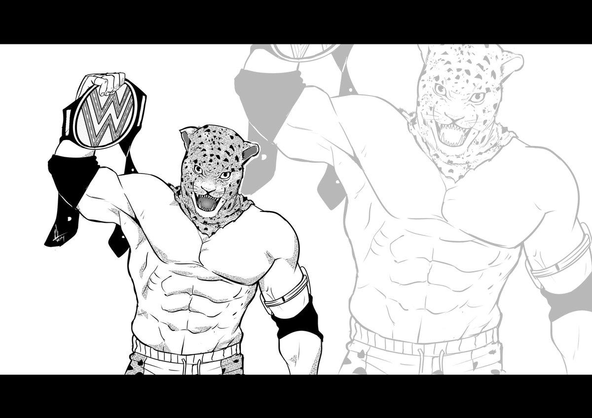 Phenky St On Twitter The New Wwe Champion Is King Art Manga