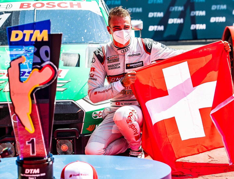 DTM Spa 2020 Gara 1 Nico Muller audi