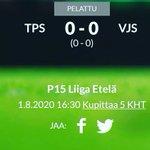Image for the Tweet beginning: Peli päättyi tasalukemiin 0-0 #EL