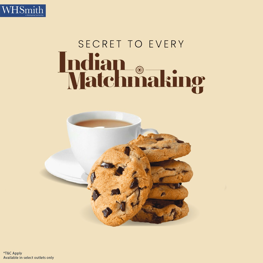 Just trust the chai and go with the flow. Be it arranged or love, every Indian shaadi saga starts from first cup of traditional chai and side of sweetness.   #Chailovers #Cookies #WHSmithpic.twitter.com/70HTD1DyQD