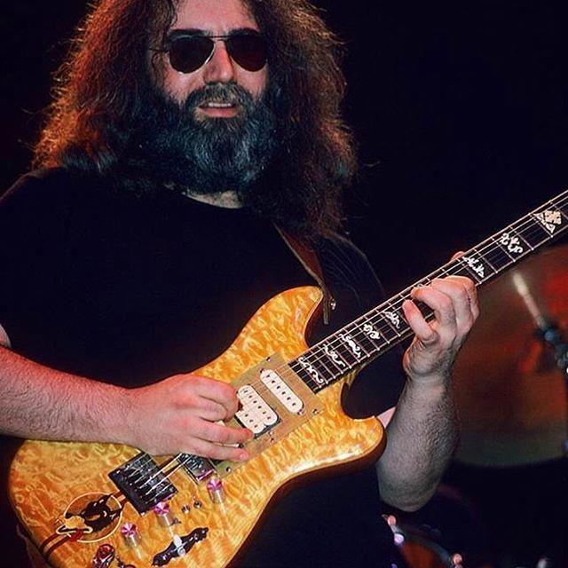 Happy Birthday, Jerry Garcia - Jerry Garcia Wolf by Doug Irwin