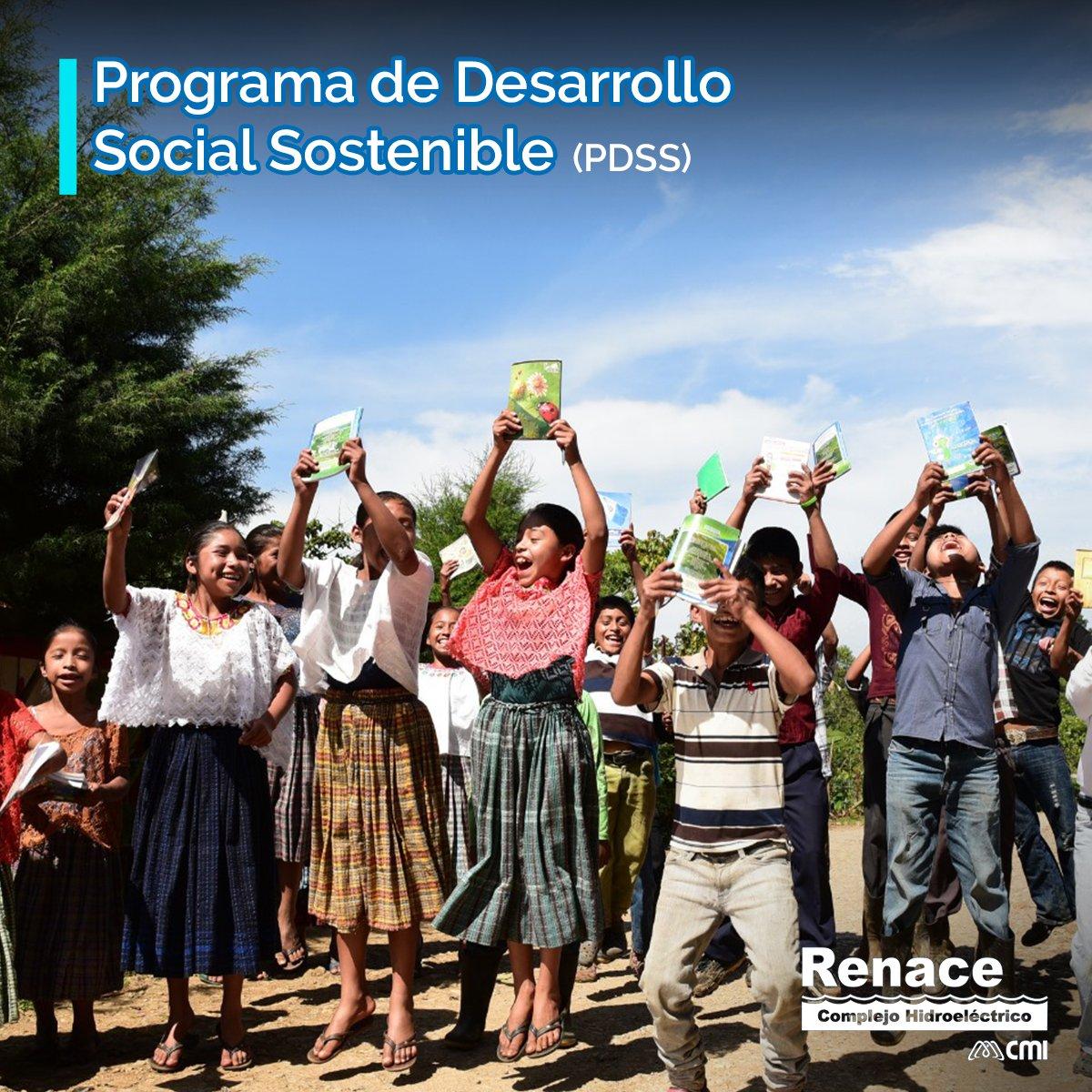 Renace aporta a 29 comunidades Maya Q'eqchi' de San Pedro Carchá, brinda herramientas a través de 7 Programas de Desarrollo Social Sostenible, y genera herramientas para todas las etapas de desarrollo de las comunidades. #RenaceAporta https://t.co/inudGOW3fu