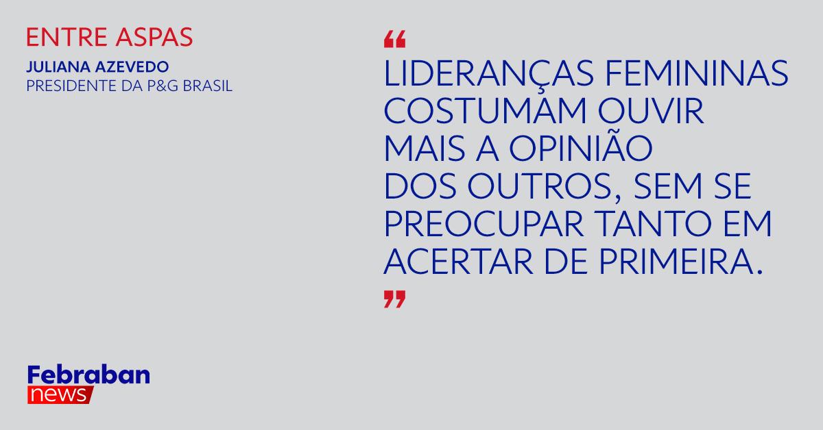 Primeira mulher a presidir a Procter & Gamble, Juliana Azevedo fala sobre liderança feminina, novos modelos de trabalho e mudanças nos hábitos de consumo. Confira a entrevista completa em https://t.co/hyD32xqYyI https://t.co/JNEJiXICil