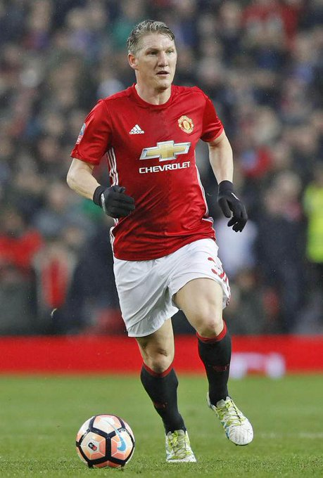 Happy birthday to former Red Devil Bastian Schweinsteiger
