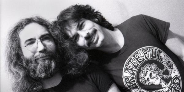 I don't have to listen to a recording of Jerry – he's still in my left ear. That's how monitors work. He'll always be there. ~ @mickeyhart. Friends in sound, and friends in life. Happy birthday @jerrygarcia. 📸: Peter Simon