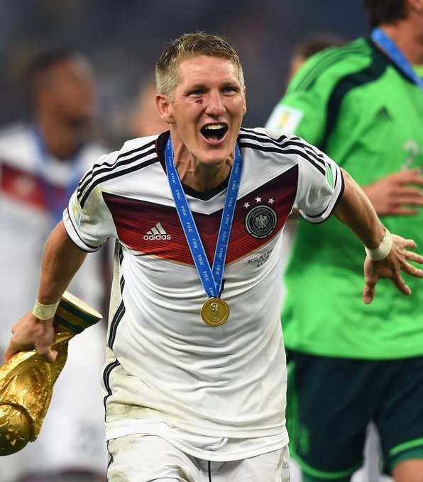Happy Birthday Bastian Schweinsteiger  He is the most successful German player ever