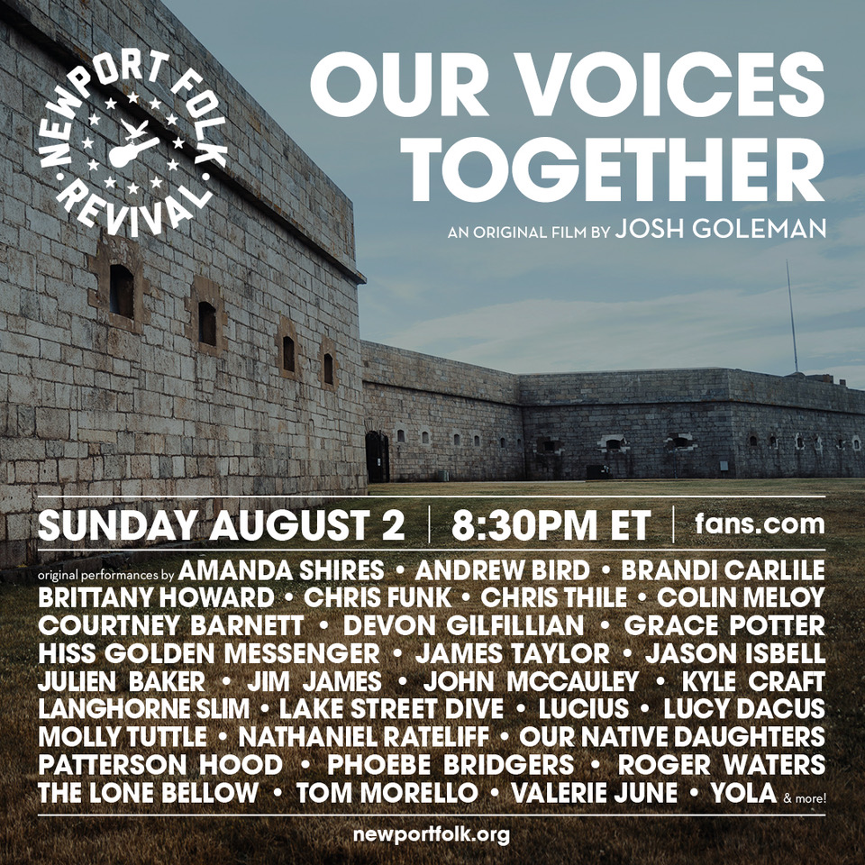 Although theres no physical stage this year, the spirit of the Newport Folk Fest continues on through this film with a collection of original performances, which includes @phoebe_bridgers ❣️ 〰 fans.com/livestream/202…