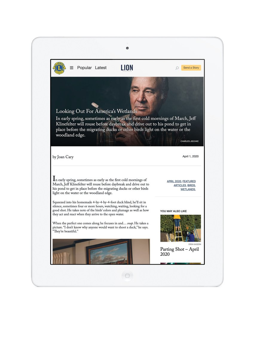 test Twitter Media - We are excited to launch the new digital LION Magazine! The new site makes it easy to find and share stories of impact from Lions clubs around the world. Visit https://t.co/6ejvO4y9Pe for the new look and feel, and tell us what you think! https://t.co/frFOfmSIb8