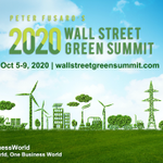 Image for the Tweet beginning: 2020 Wall Street Green Summit