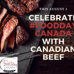 Image for the Tweet beginning: Happy #FoodDayCanada to everyone working