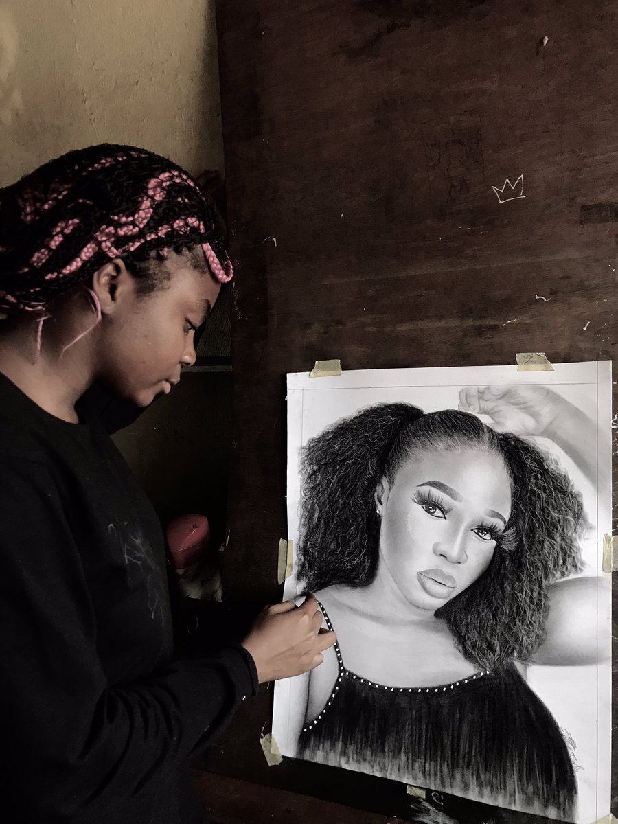 Art is something that makes u breathe with a different kind of happiness ❤️❤️🙈🙈🌸pls kindly help me retweet my hustle,biko❤️❤️my customer may b on ur tl ❤️❤️🌸