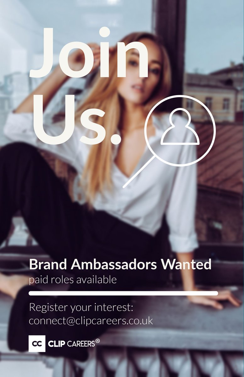 Are you interested in developing a career in Marketing. Register your interest by emailing connect@clipcareers.co.uk or contacting 0333 772 1 773 for information.   Ambassadors to be finalised by 16 August 2020   #clipcareers #hiring #ambassadorswanted #brandambassadorswantedpic.twitter.com/qu6m8NFvXv
