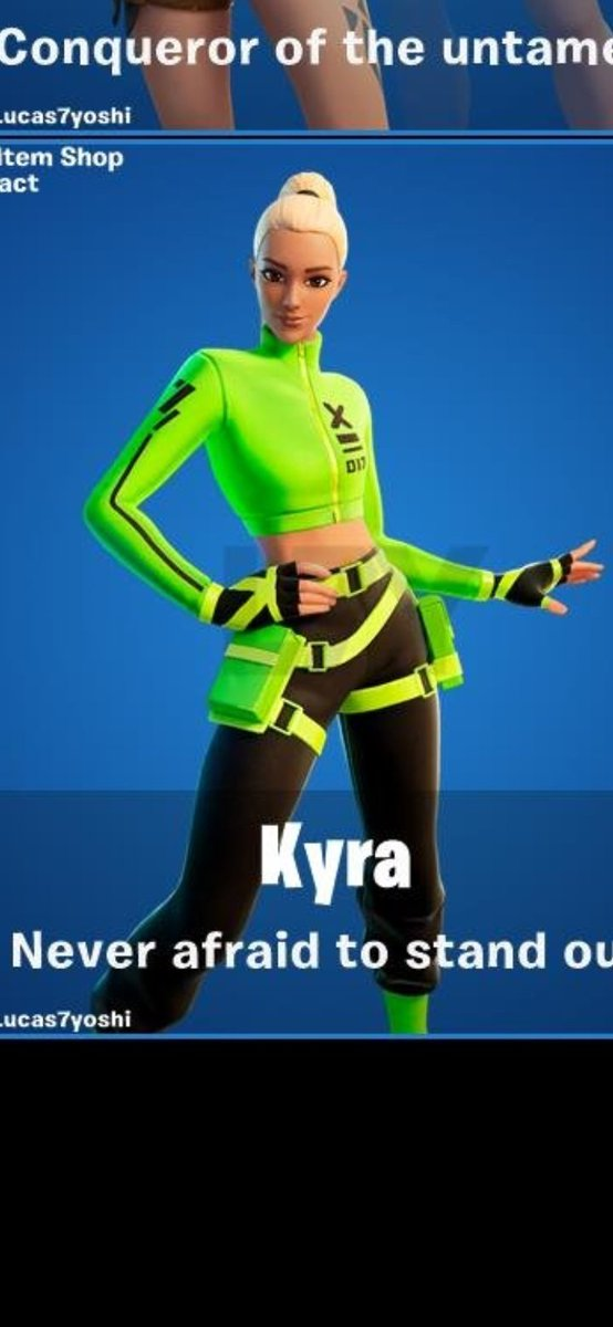 Its day 567 with no kyra skin in the item shop SEND HELP we just want the skin why is it taking so LONGGGGG!?!?!?!?!!?!?!?? @FortniteGame #itemshop #Fortnite #fortniteskin pic.twitter.com/YII4b0sXHB