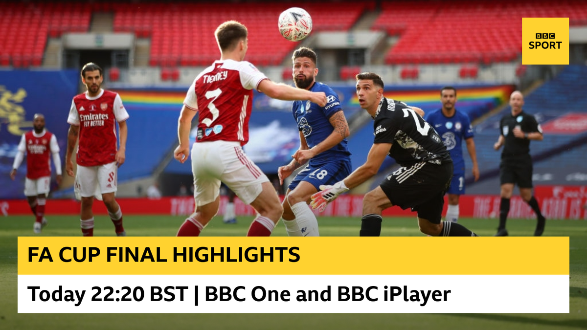 The highlights of a fantastic #FACupFinal are about to begin now on @BBCOne and @BBCiPlayer 🏆 #bbcfacup
