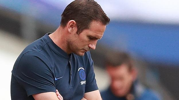 We got complacent, took time on the ball like it was a stroll. Chelsea manager Frank Lampard says his side only have themselves to blame after losing the Heads Up FA Cup final to Arsenal. More: bbc.in/39TMyY3