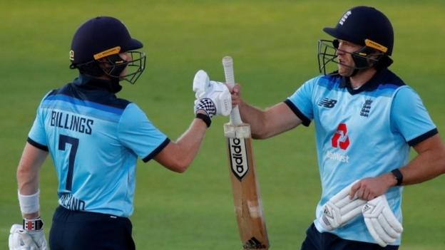 England took an unassailable 2-0 series lead against Ireland after winning the second one-day international by four wickets. More: bbc.in/2EHfVBr
