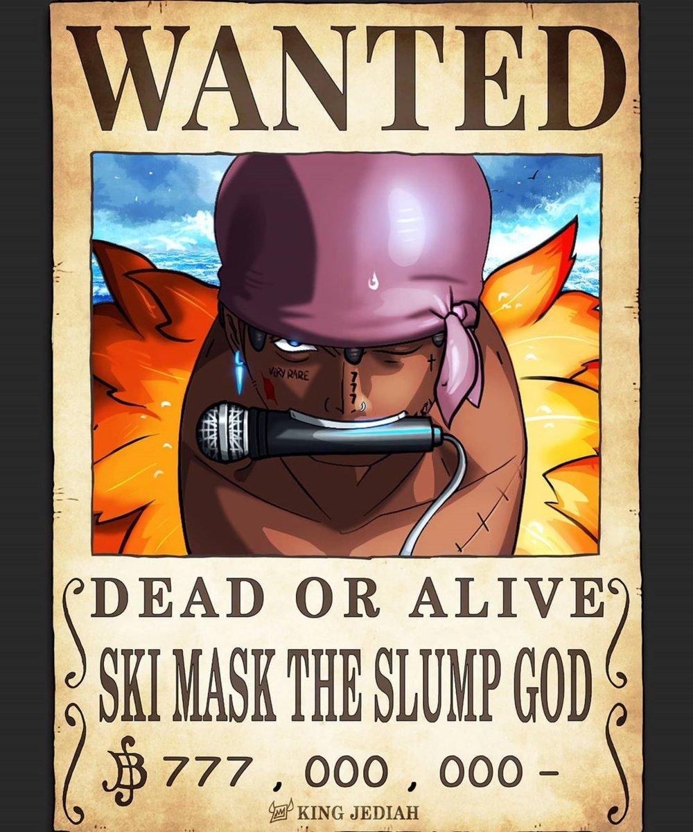 Ski Mask, Juice Wrld and Trippie Redd x One Piece 🏴☠️ 🎨: @Jediah
