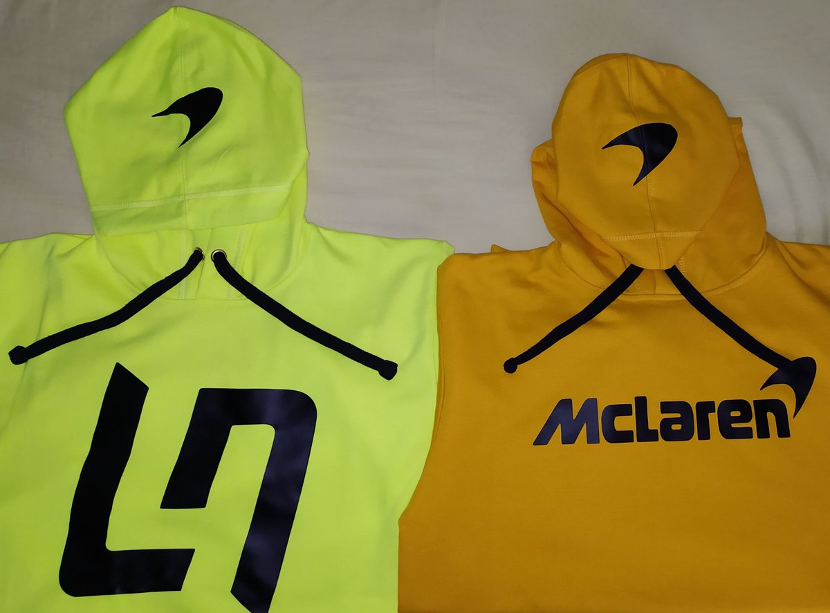 Just arrived! Getting ready for support my team in the #BritishGP tomorrow. @McLarenF1 @LandoNorris 🧡 https://t.co/Ynj9yPCT8M