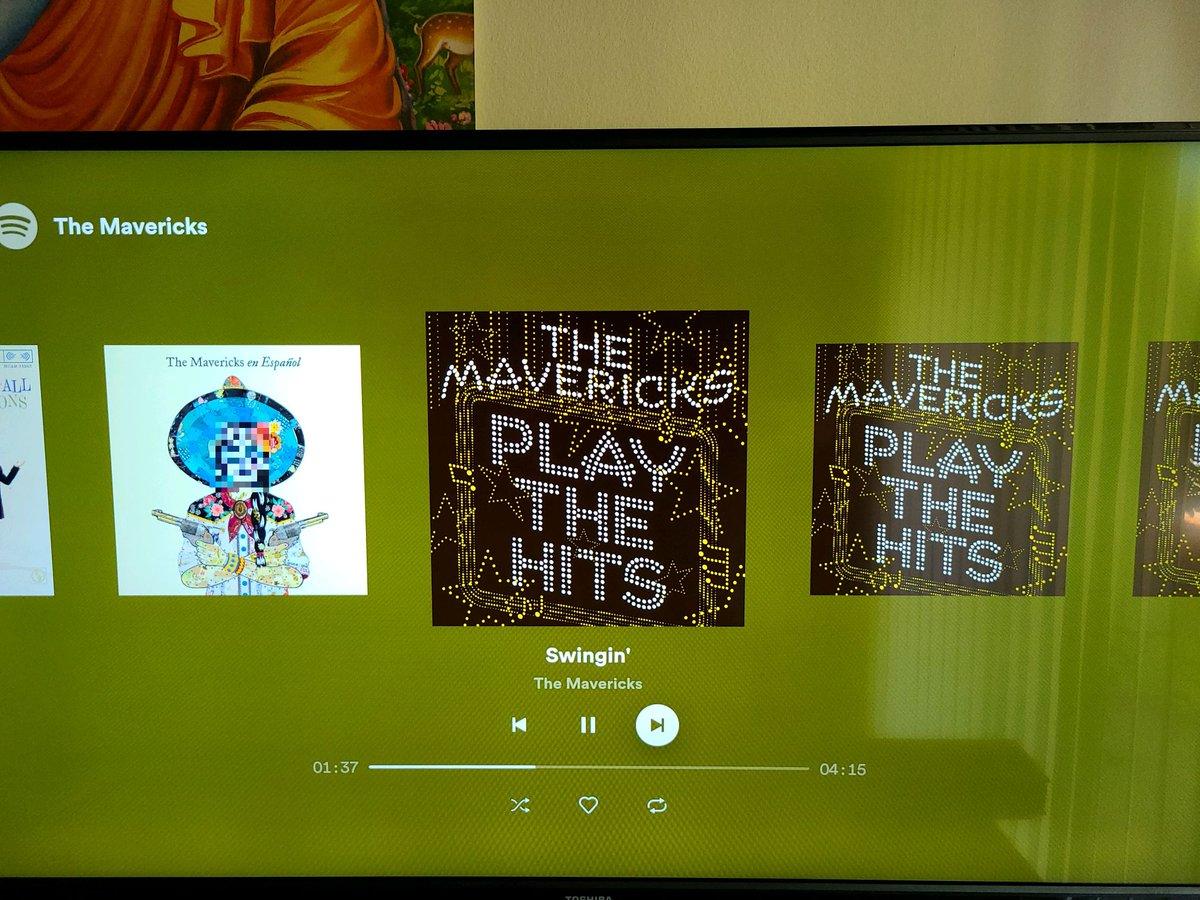 A good afternoon.. #Spotify #themavericks #lazysaturdaypic.twitter.com/c2lSHqh7FO