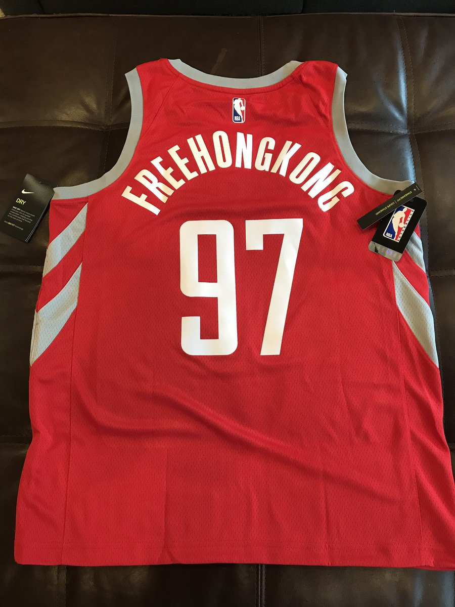 Arrived today. A little homage to Daryl Morey, so far maybe the only person in @NBA world with the guts to stand up to imperialist, colonizing, slave state #China