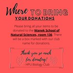 Join @HighPointU's BioClub as they kick off their fall donation drive! Help us provide free experiment and care packs to local @CityofHighPoint kids!!